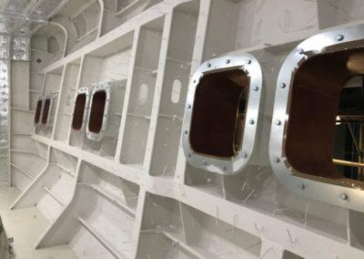 Collari della serie giga 600x600 con dime di stuccatura SCM marine
