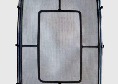 Zanzariera 530x730 verniciata nera SCM marine Sanlorenzo