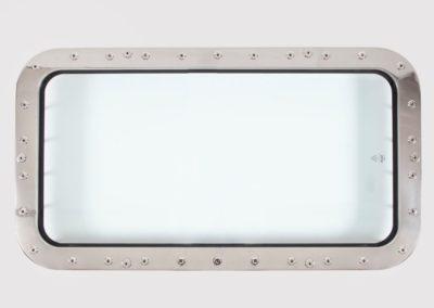 oblo serie super 400x800 in acciaio inox SCM marine